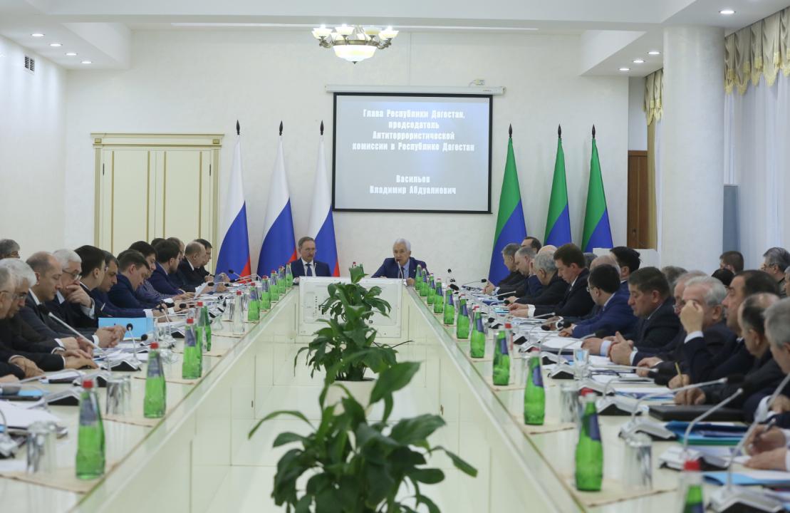 Заседание Антитеррористической комиссии в РД