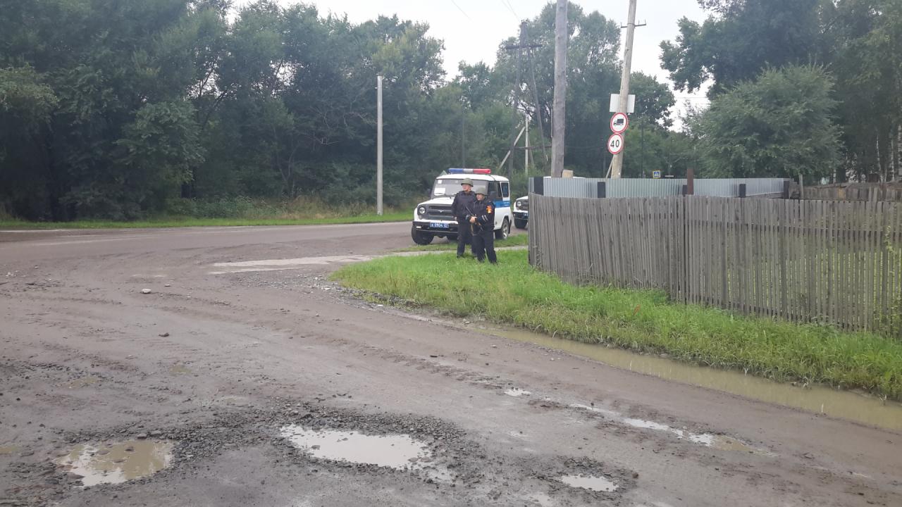 В Хабаровском крае завершилось антитеррористическое учение