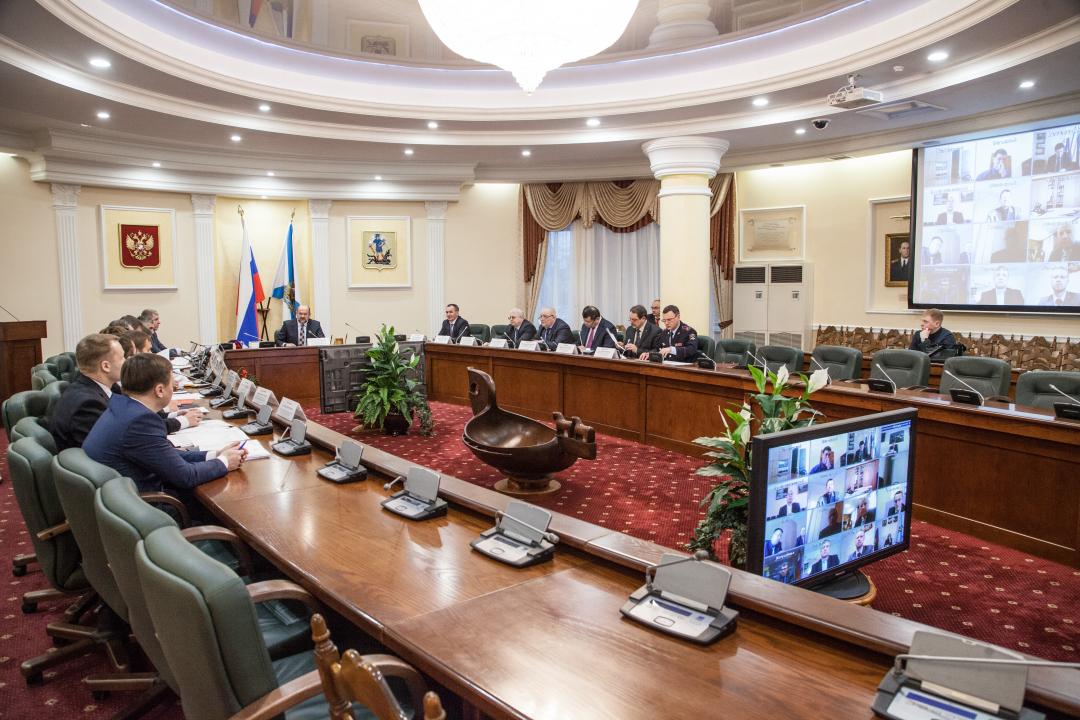 Открытие заседания антитеррористической комиссии в Архангельской области