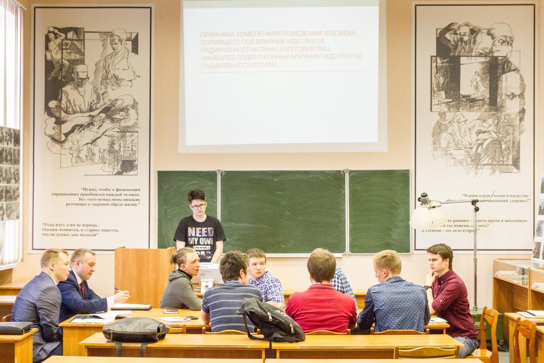 Обсуждение докладов на семинаре