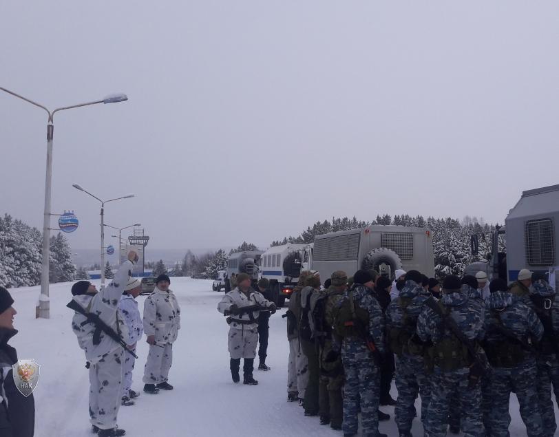 Оперативным штабом в Красноярском крае проведено тактико-специальное учение «Набат-2017»