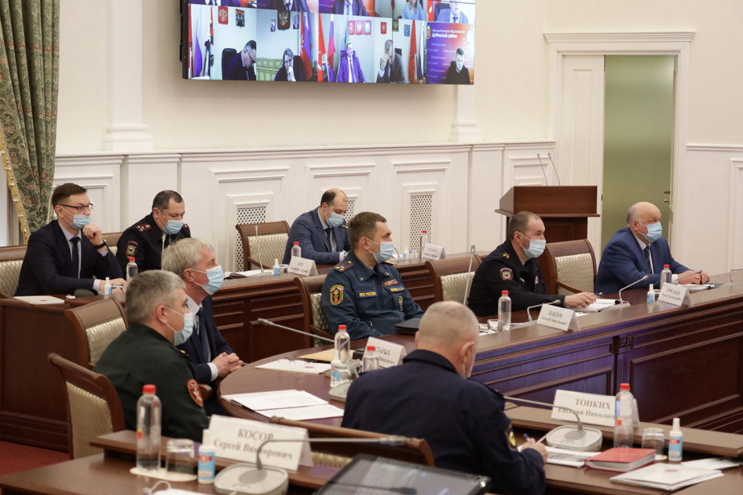 Участники заседания АТК