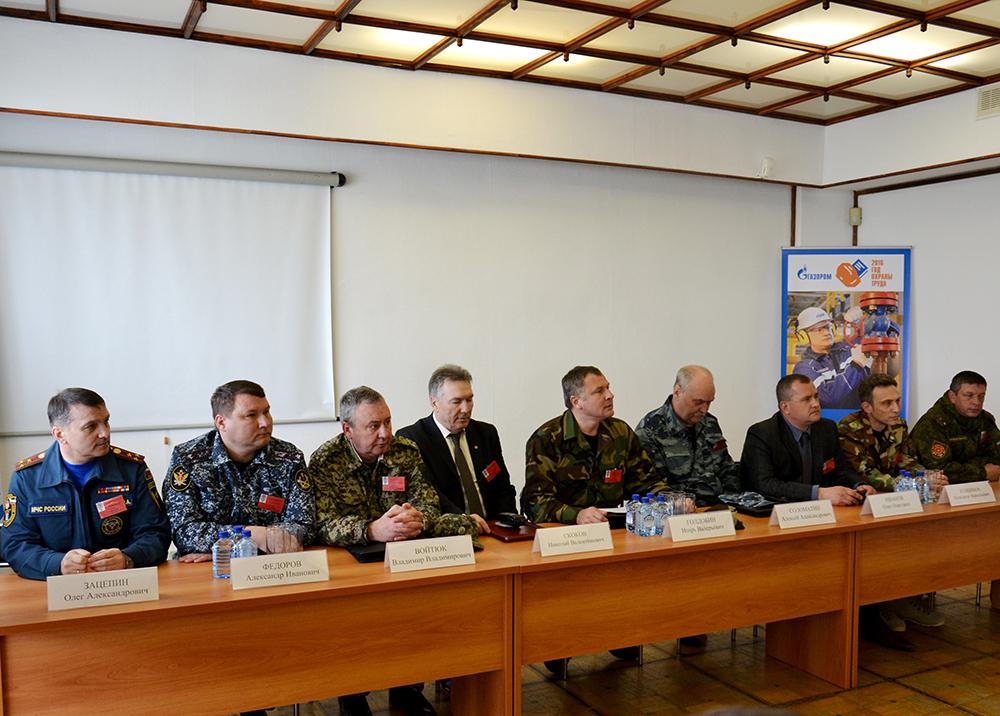 Оперативный штаб в Тамбовской области проводит подведение итогов тактико-специального учения