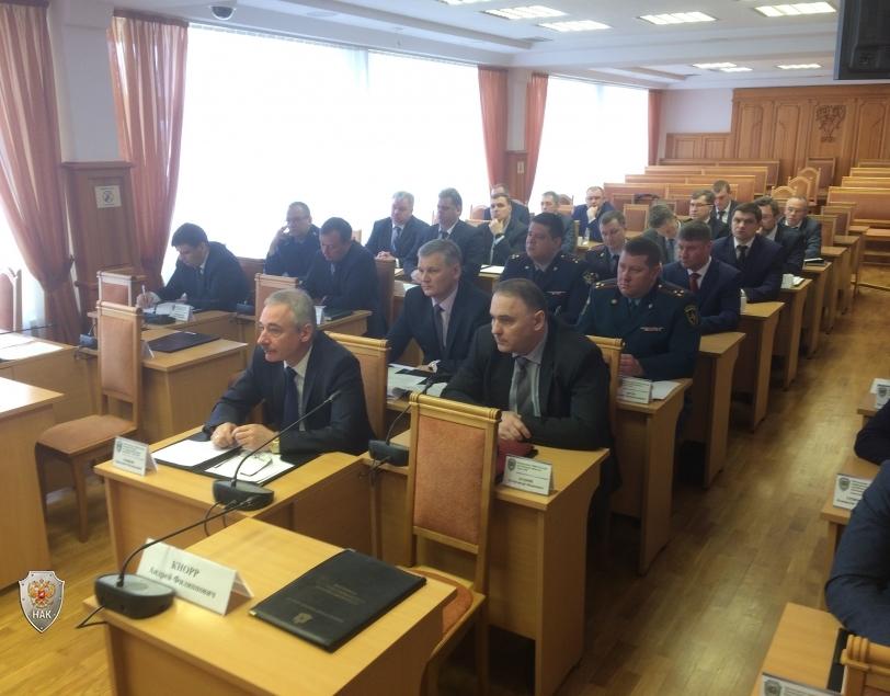 Начало заседание антитеррористической комиссии в Томской области