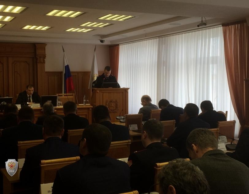 Доклад УМВД по Томской области о готовности обеспечения безопасности в период майских праздников