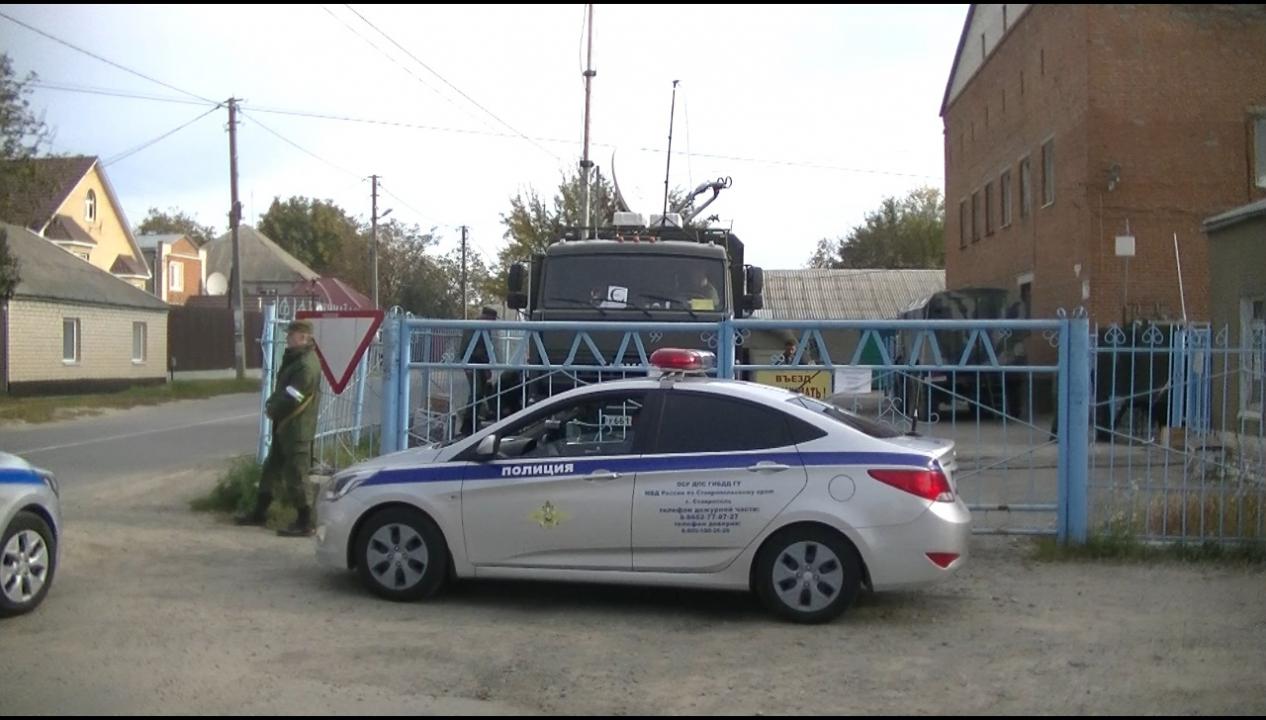 Оперативным штабом в Ставропольском крае проведено плановое антитеррористическое тактико-специальное учение «Шпаковский-Экран-2019»