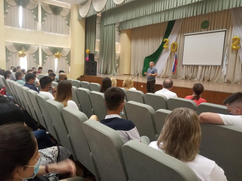 В вузах Орла организованы мероприятия, посвященные Дню солидарности в борьбе с терроризмом