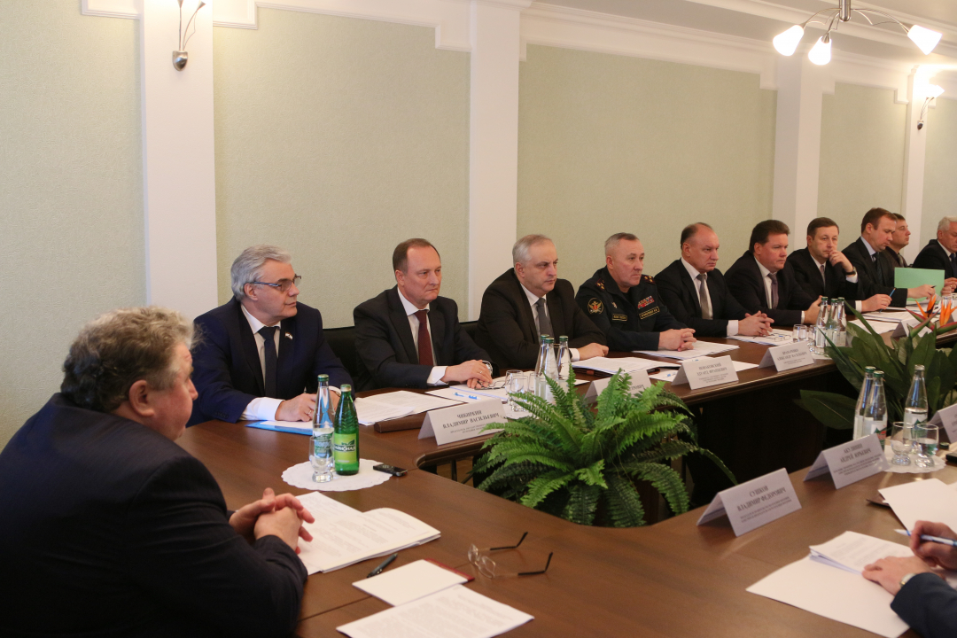 Совместное заседание Антитеррористической комиссии и Оперативного штаба Республики Мордовия