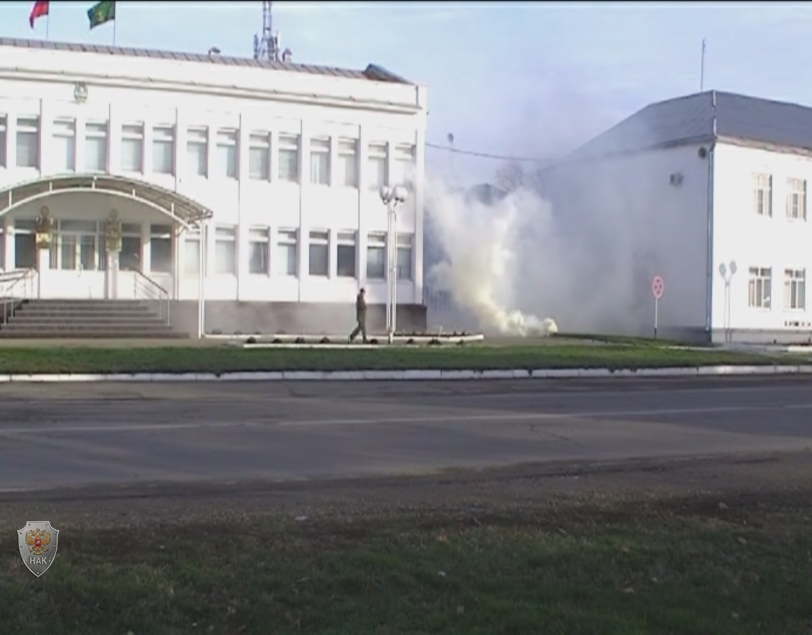 Оперативным штабом в Республике Адыгея проведено командно – штабное антитеррористическое учение «Гроза»
