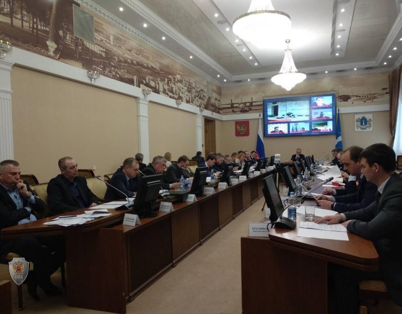Проведение совместного заседания антитеррористической комиссии в Ульяновской области и оперативного штаба в Ульяновской области