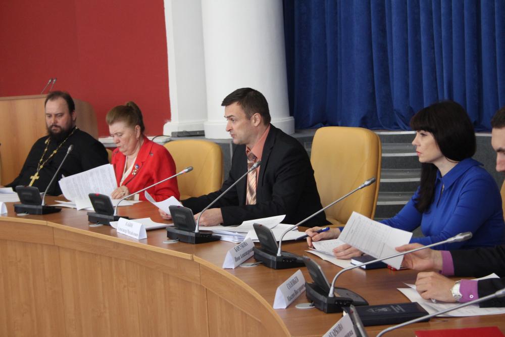 Провел заседание заместитель председателя Экспертного совета, руководитель аппарата АТК в Орловской области  А. М. Кабин