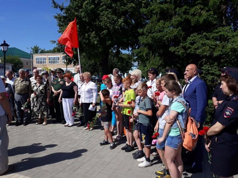 Патриотические акции прошли во всех муниципальных образованиях Московской области