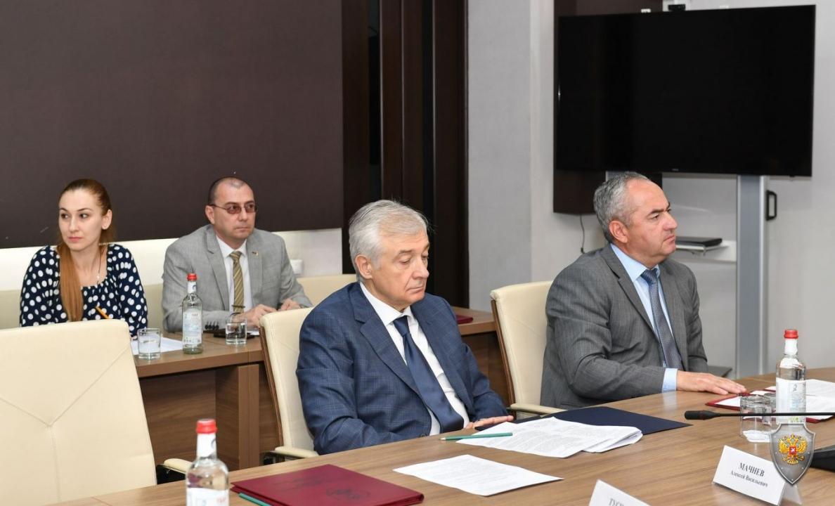 Совместное заседание Антитеррористической комиссии  и Оперативного штаба в Республике Северная Осетия-Алания