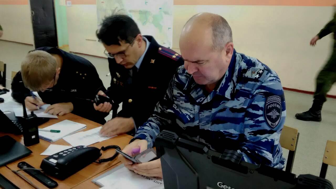 В Ивановской области прошли командно-штабные учения «Метель-2018»
