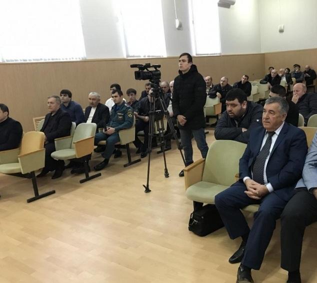 Вопрос о безопасности образовательных учреждений обсудили на заседании АТК в Новолакском районе