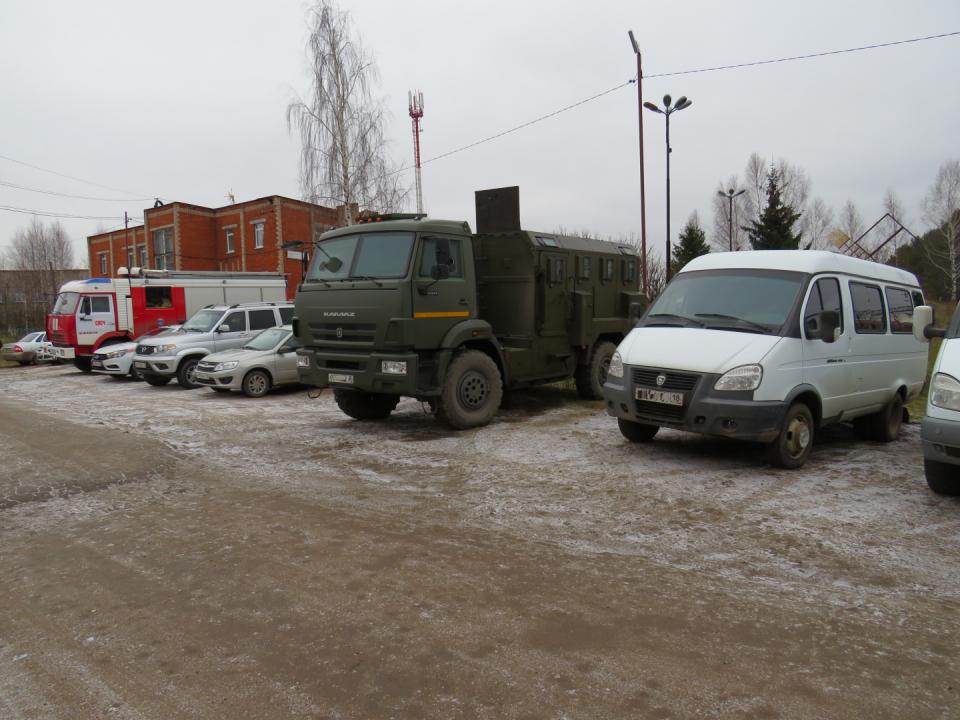 Оперативным штабом в Удмуртской Республике проведено антитеррористическое учение