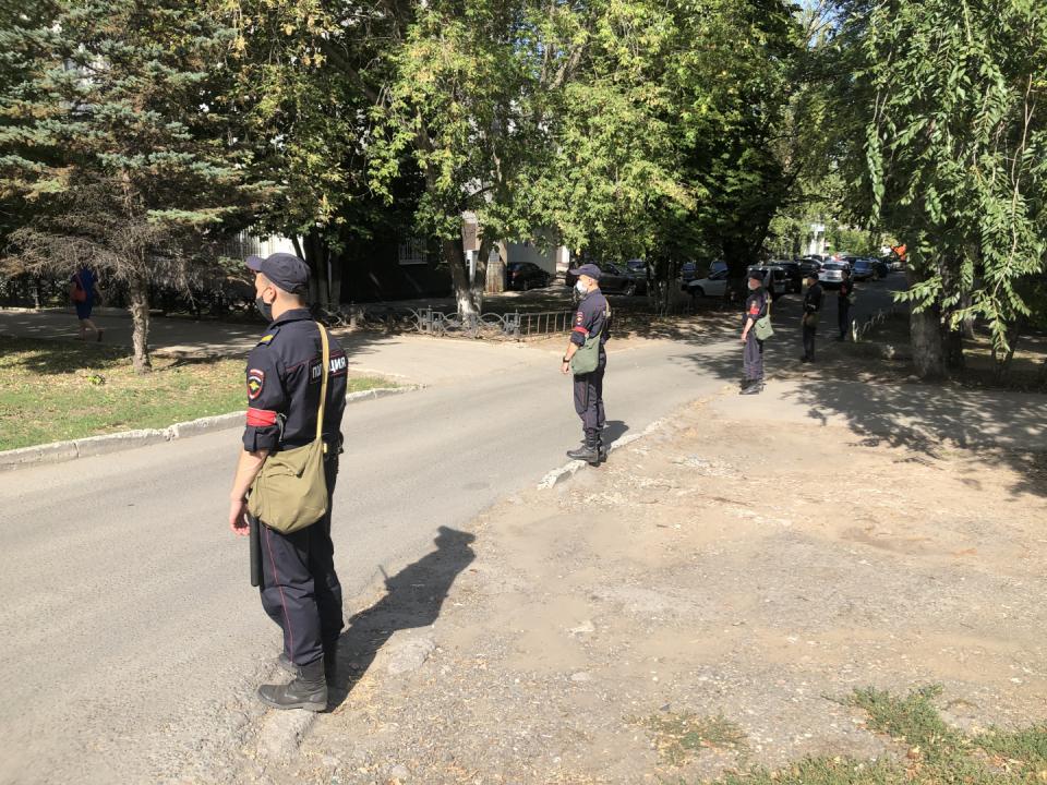 Оперативным штабом в Самарской области проведено командно-штабное учение
