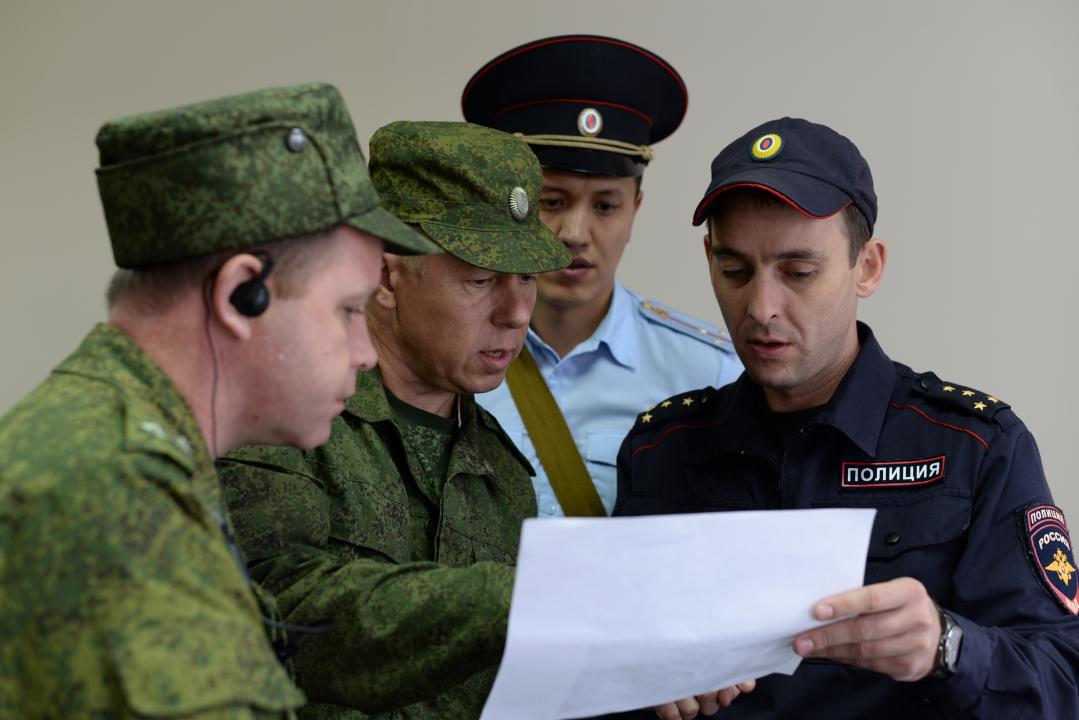В Хакасии проведены антитеррористические учения