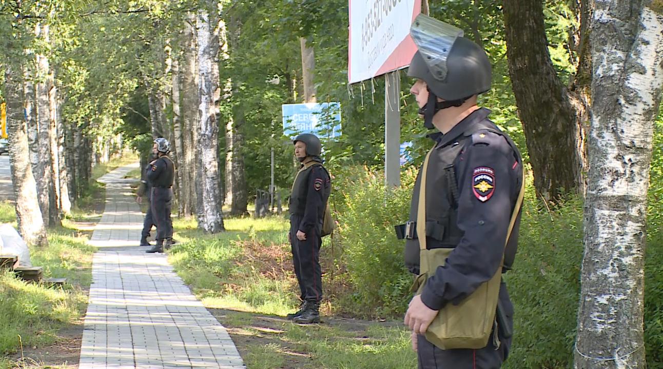 Оперативным штабом в Республике Карелия проведено плановое антитеррористическое тактико-специальное учение на объекте массового пребывания людей