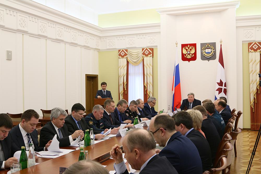 Выступление председателя Государственного комитета Республики Мордовия по транспорту Кандрина В.А.