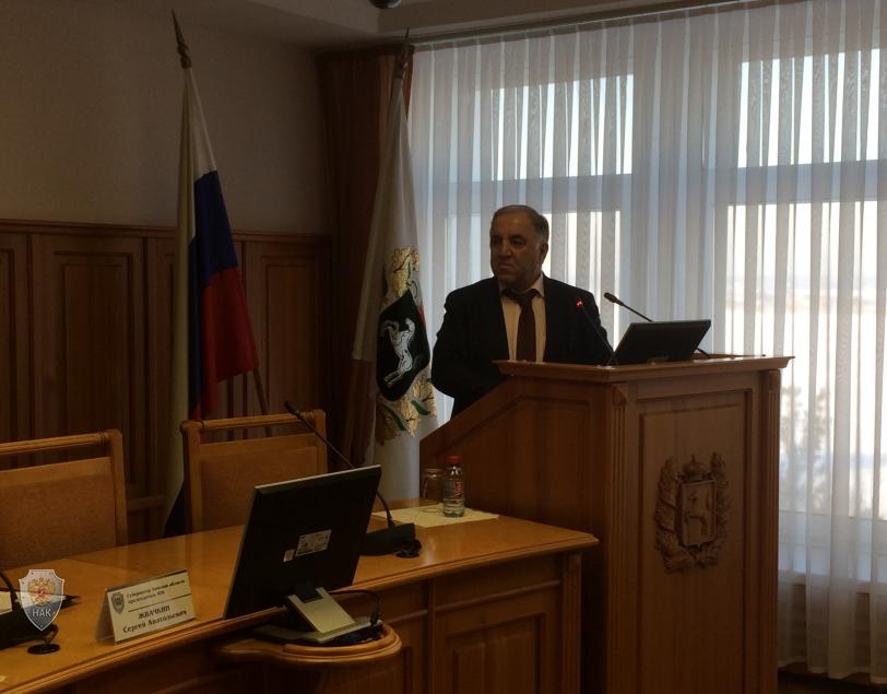 По первому вопросу заседания докладывает председатель Избирательной комиссии Томской области Юсубов Э.С.