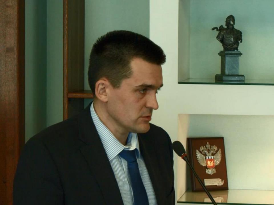 Доклад директора департамента по жилищно-коммунальному хозяйству и топливным ресурсам Приморского края