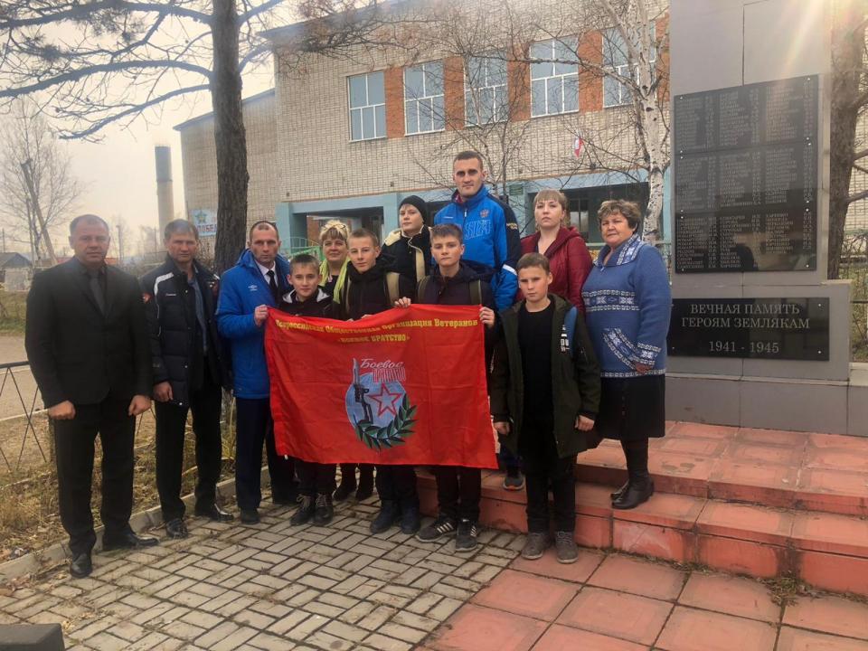 При участии аппарата краевой АТК реализован проект - «Равнение на защитников Отечества»