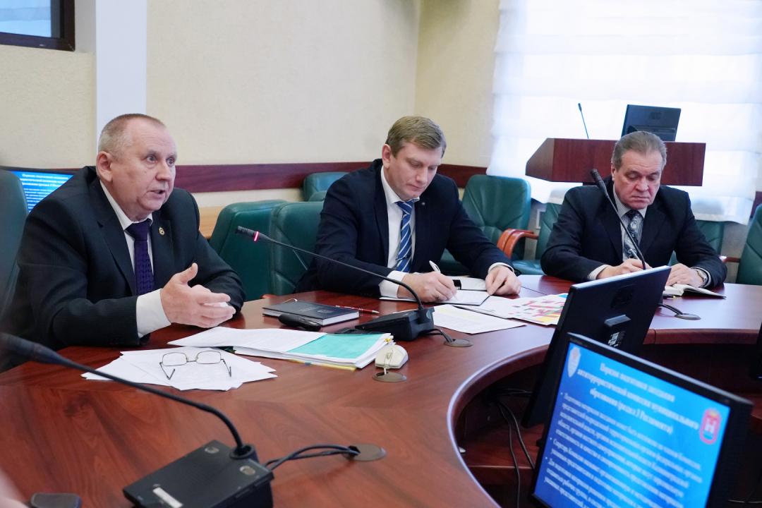 В правительстве прошёл учебно-методический сбор с секретарями муниципальных антитеррористических комиссий