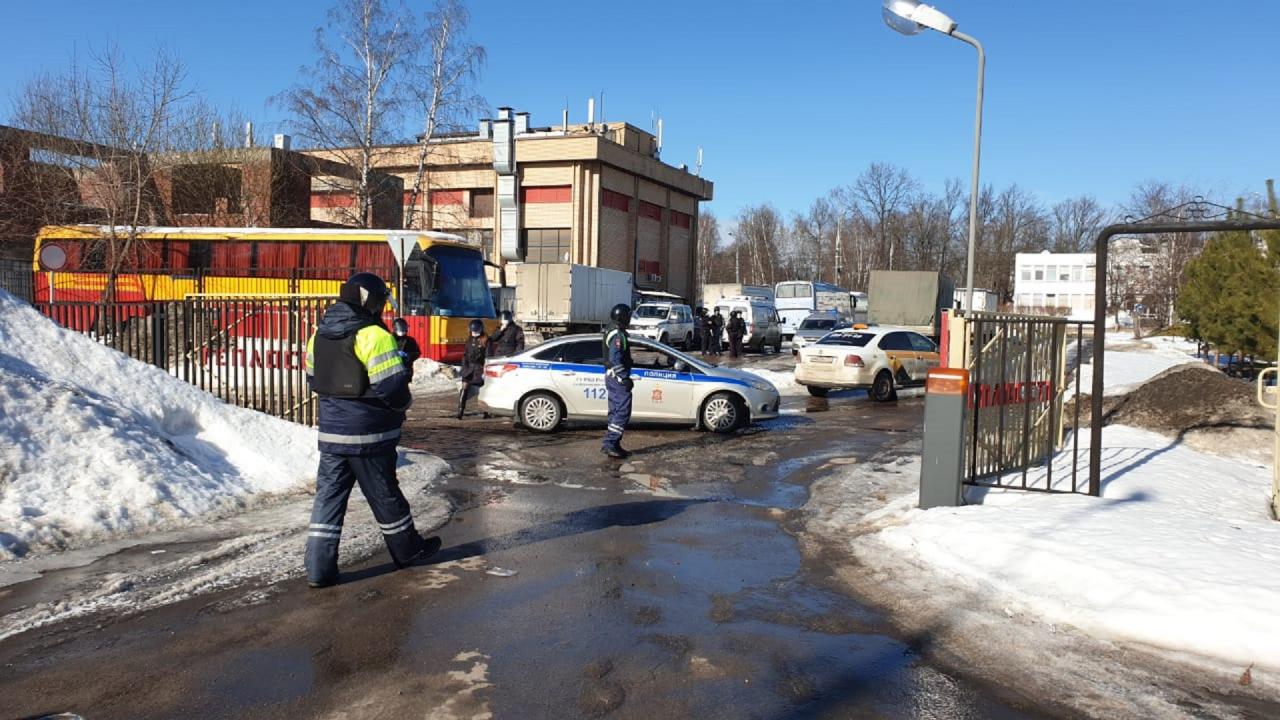 В Московской области проведена антитеррористическая практическая тренировка