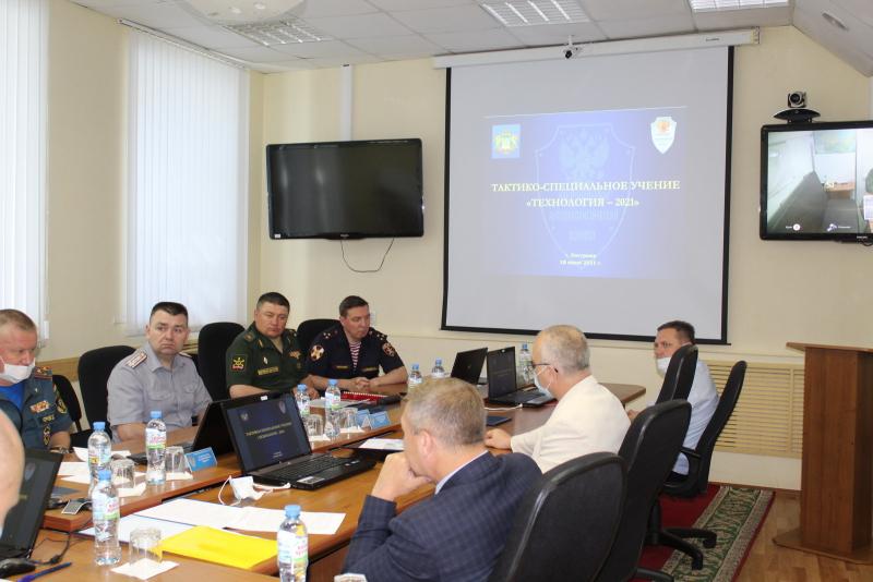 Оперативным штабом Костромской области проведено антитеррористическое учение