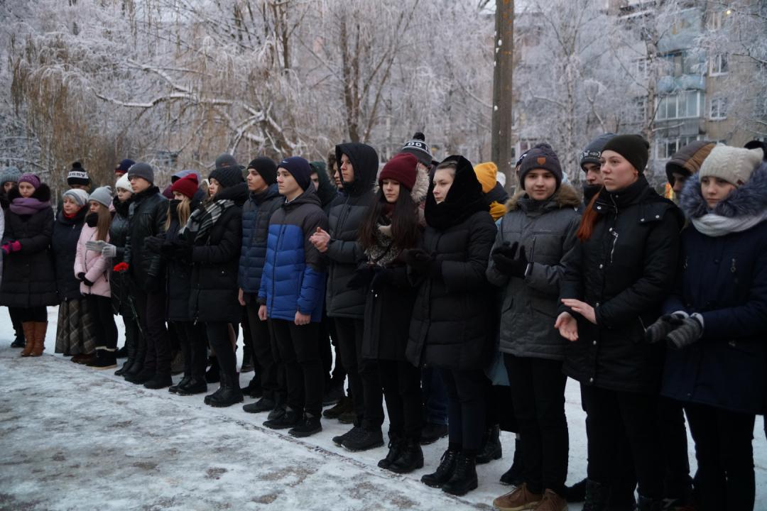 Открытие мемориальной доски в честь Алексея Калыша