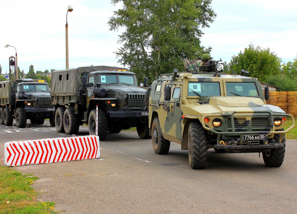 Оперативным штабом в Тамбовской области проведено тактико-специальное учение по пресечению террористического акта на объекте Вооруженных Сил