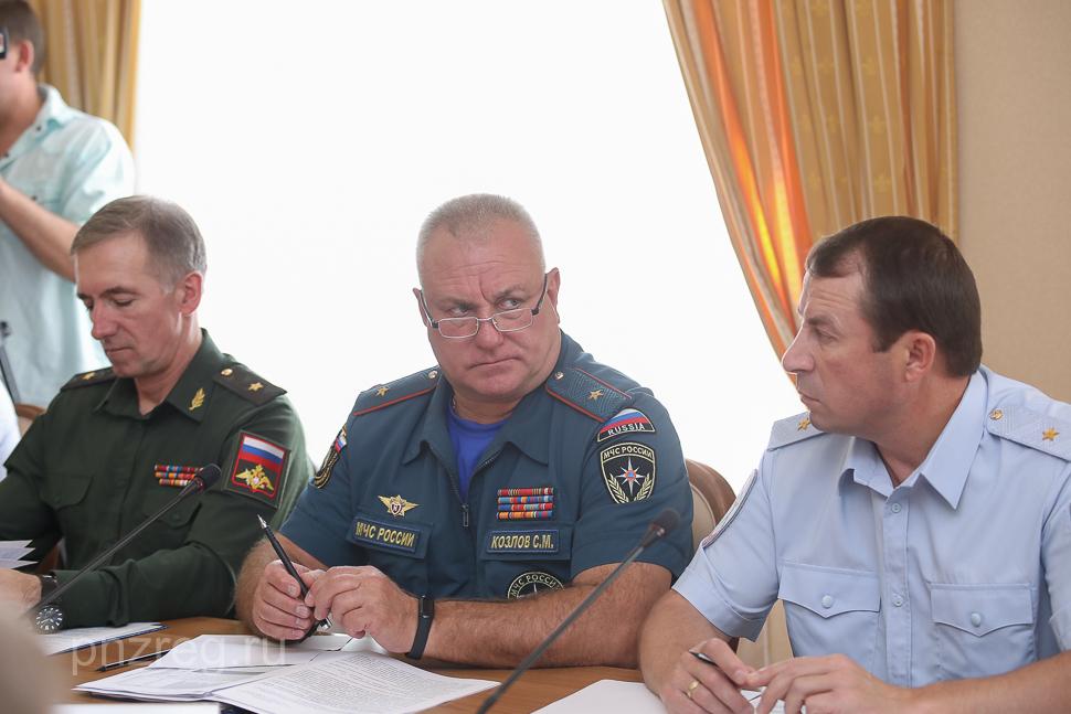 В Пензенской области состоялось заседание антитеррористической комиссии и оперативного штаба