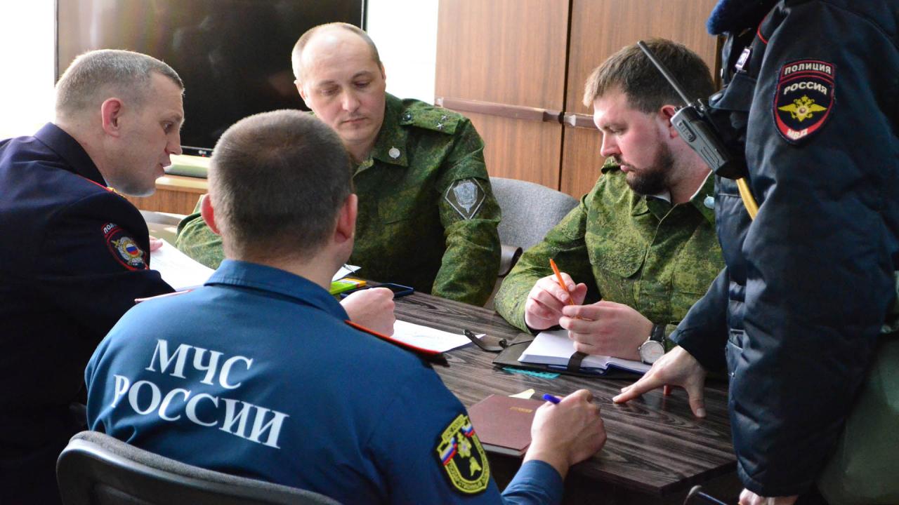 Оперативным штабом в Еврейской автономной области проведено командно-штабное учение «Сигнал-Смидович-2020».
