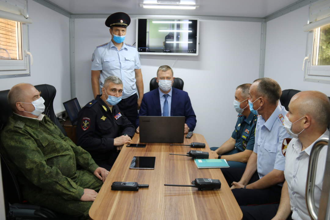 В Брянской области проведены антитеррористические командно-штабные учения