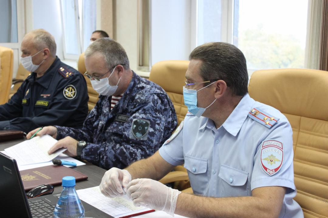 Оперативным штабом в Республике Хакасия проведено учение