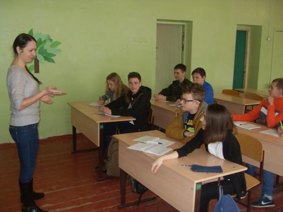 Информационное занятие «Национальность без границ», р.п. Ровное Саратовской области.