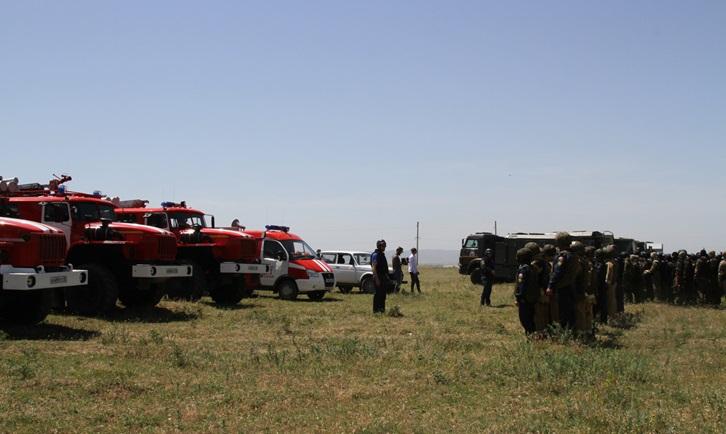 Оперативным штабом НАК в Чеченской Республике проведено плановое антитеррористическое учение «Пункт-2020»