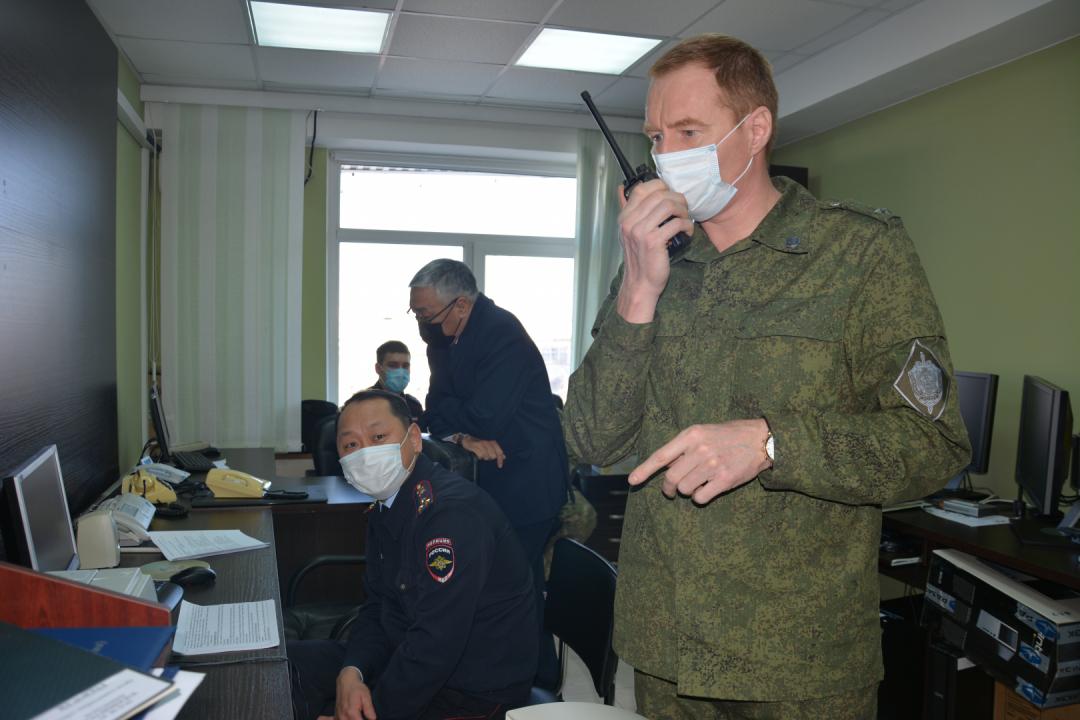 Оперативным штабом в Республике Саха (Якутия) проведено контртеррористическое учение