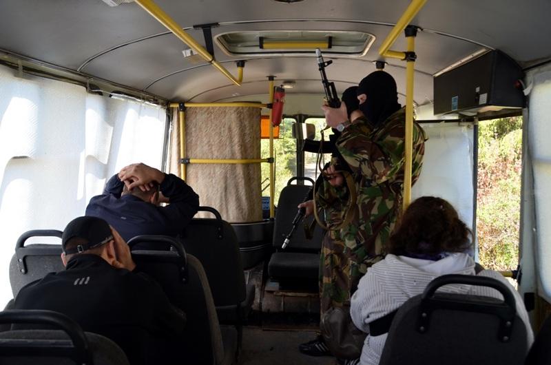 Тактико-специальное учение на объекте транспорта. Вологодская область. 15 мая 2014 года