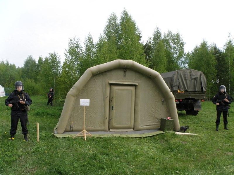 Временный пункт управления оперативного штаба в Ивановской области и группа охраны ОШ