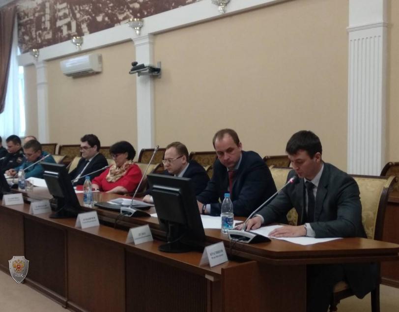 Выступление начальника подразделения УФСБ России по Ульяновской области И.В.Красникова