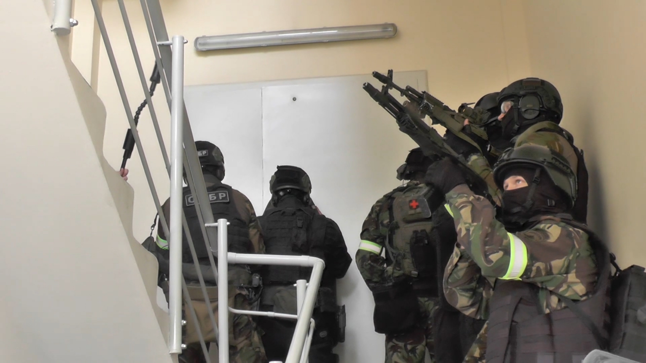 Подготовка к штурму
