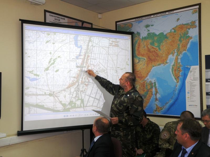 Командно-штабное учение «Сигнал-Биробиджан-Хабаровск-2014». Хабаровский край, Еврейская автономная область. 22 мая 2014 года