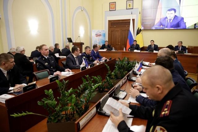 Состоялось заседание антитеррористической комиссии в Ярославской области