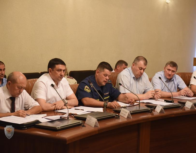Прошло совместное заседание антитеррористической комиссии Астраханской области и постоянно действующего координационного совещания по обеспечению правопорядка в Астраханской области