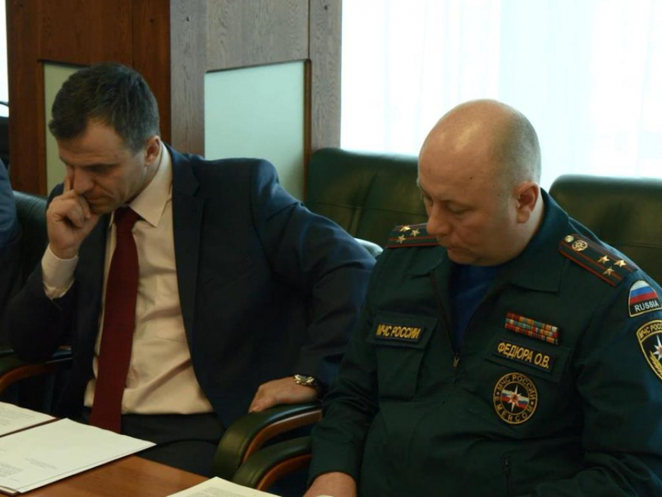Члены антитеррористической комиссии Приморского края