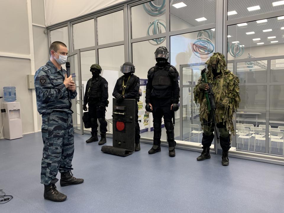 В Тамбовской области проведен цикл уроков мужества