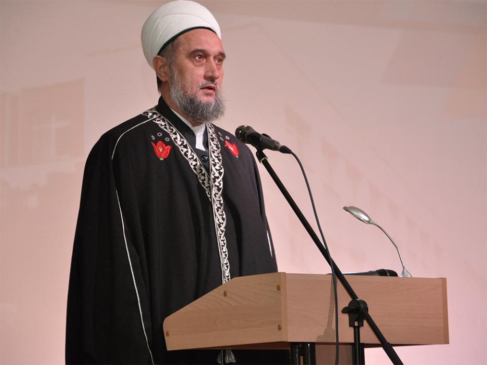 Выступление представителя Регионального Духовного Управления мусульман Самарской области