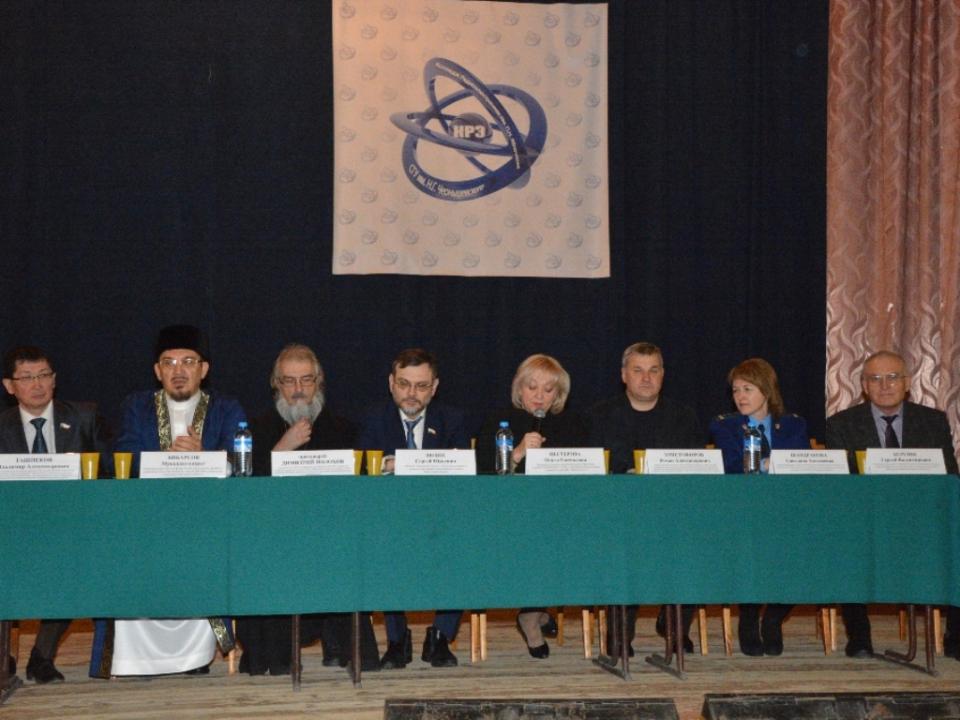 Встреча студентов с председателем комитета общественных связей и национальной политики Саратовской области и представителями Духовного управления мусульман Саратовской области.